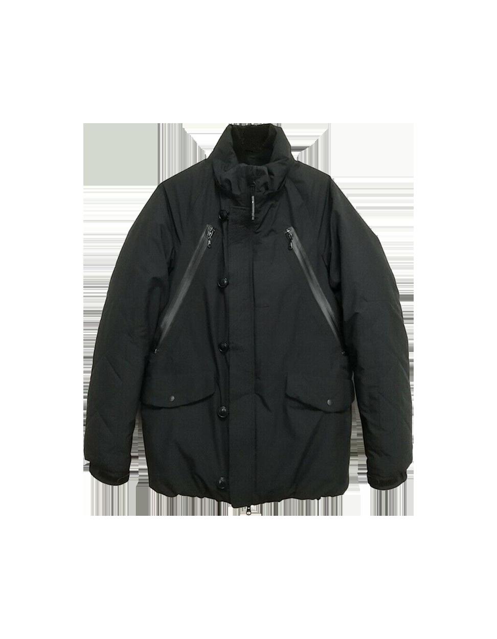 f/ce. Black Polyester Mens Lightweight Jacket