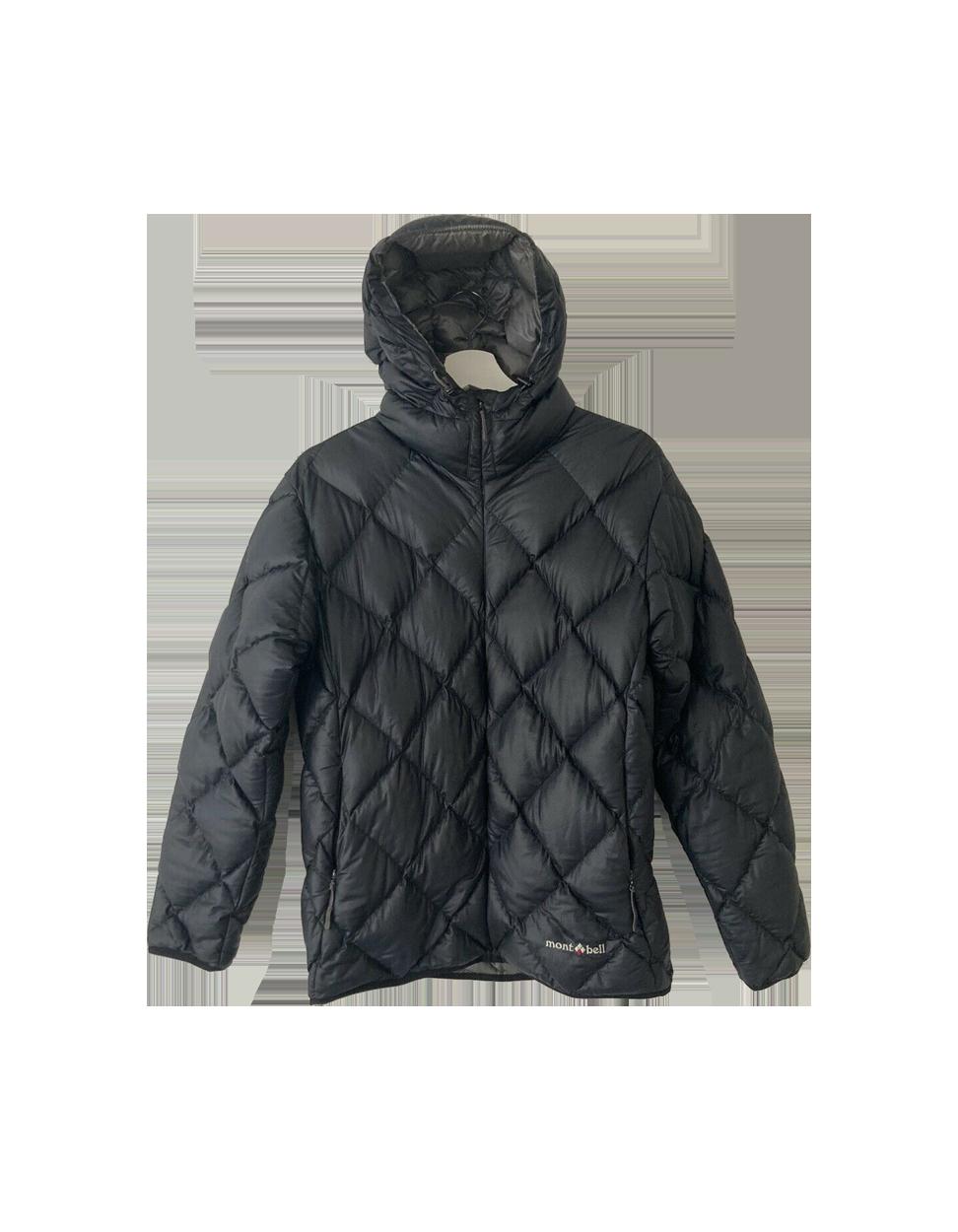 Montbell Navy Diamond Stitch Down Jacket